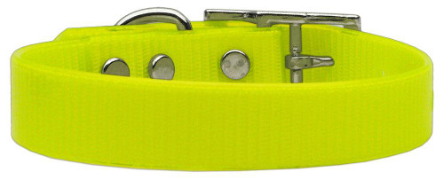 Plain Tropical Jelly Collars Yellow Lg - 45-10 LGYW