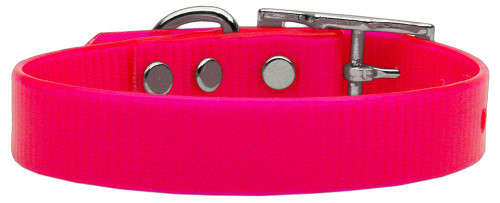 Plain Tropical Jelly Collars Pink Lg - 45-10 LGPK