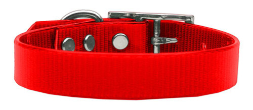 Plain Tropical Jelly Collars Red Lg - 45-10 LGRD