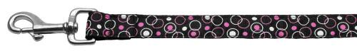 Retro Nylon Ribbon Collar Black 1 Wide 6ft Lsh - 125-003 1006BK