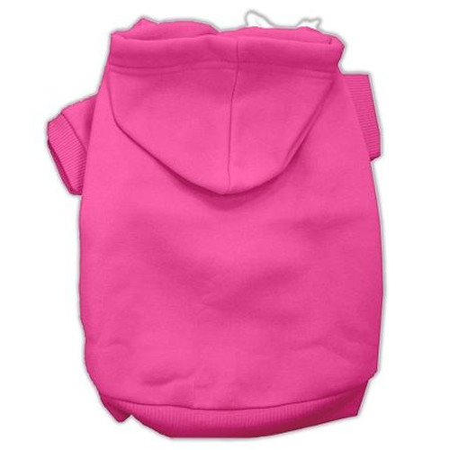 Blank Hoodies Bright Pink Size M (12)