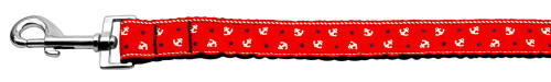 Anchors Nylon Ribbon Leash Red 1 Inch Wide 6ft Long