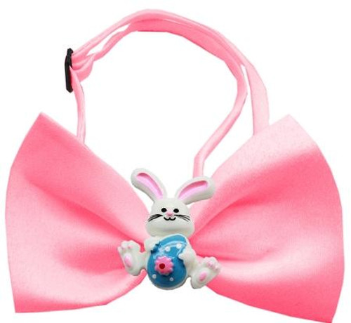 Easter Bunny Chipper Bubblegum Pink Bow Tie