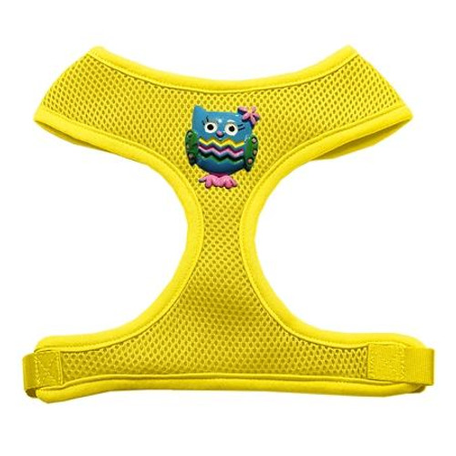 Blue Owls Chipper Yellow Harness Large