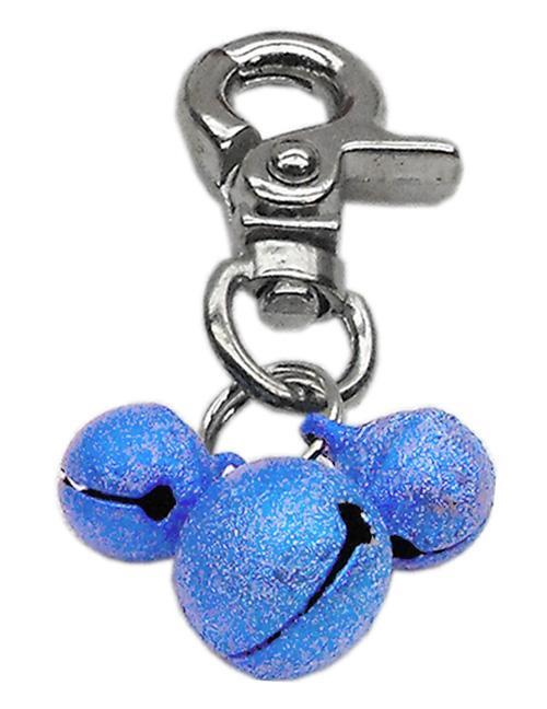 Lobster Claw Bell Charm Blue . - 11-02 BL