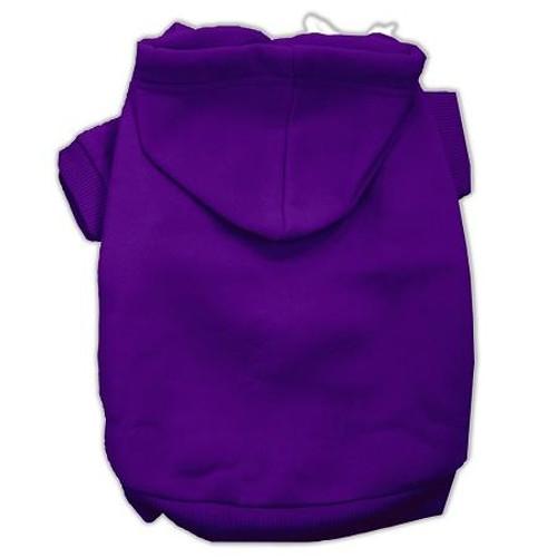 Blank Hoodies Purple Size S (10)