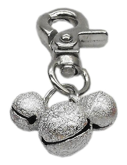 Lobster Claw Bell Charm Silver . - 11-02 SV