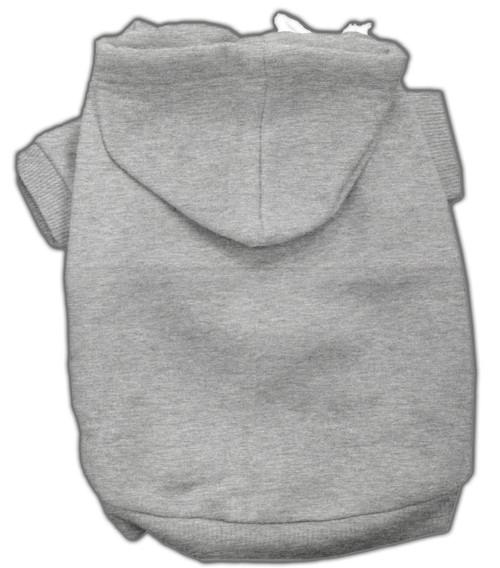 Blank Hoodies Grey S (10)