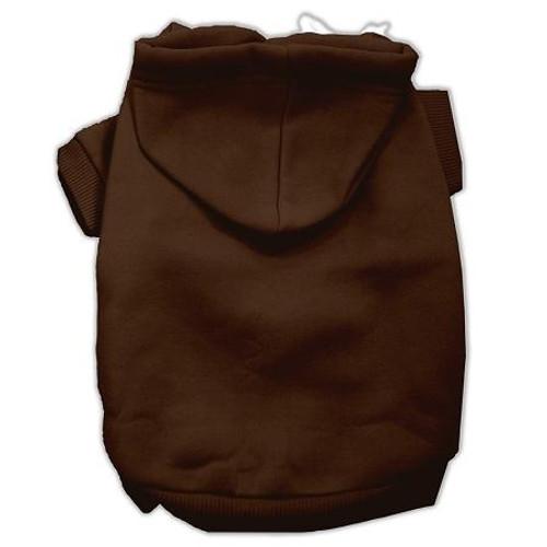 Blank Hoodies Brown Size S (10)