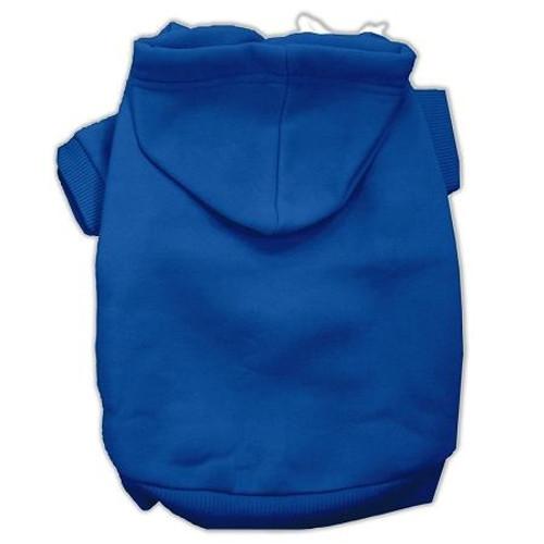Blank Hoodies Blue Size S (10)