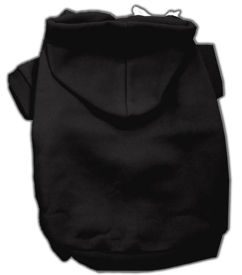 Blank Hoodies Black S (10)
