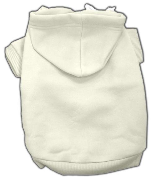 Blank Hoodies Cream S (10)