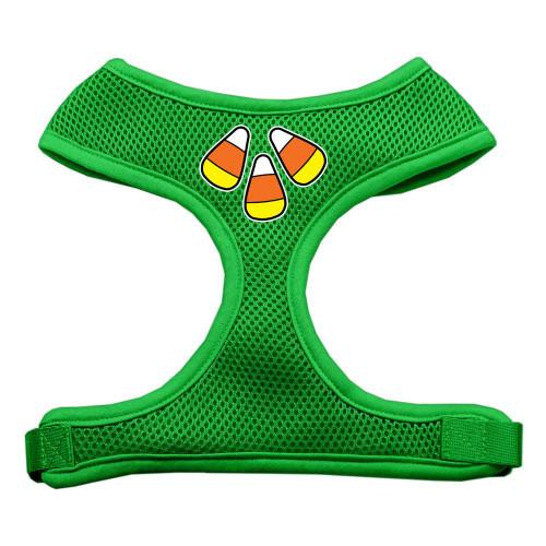 Candy Corn Design Soft Mesh Harnesses Emerald Green Small