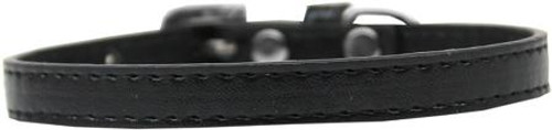 Omaha Plain Puppy Collar Black Size 10