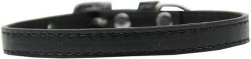 Omaha Plain Puppy Collar Black Size 14