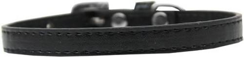 Omaha Plain Puppy Collar Black Size 16