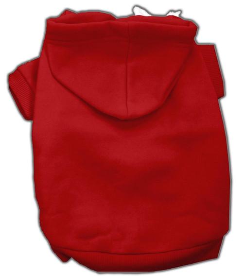 Blank Hoodies Red S (10)