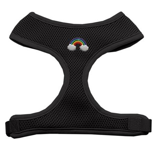 Rainbow Chipper Black Harness Small