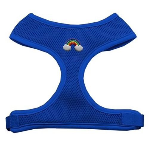 Rainbow Chipper Blue Harness Small