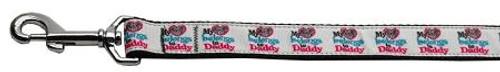 My Heart Belongs To Daddy Nylon 1 Wide 6ft Leash