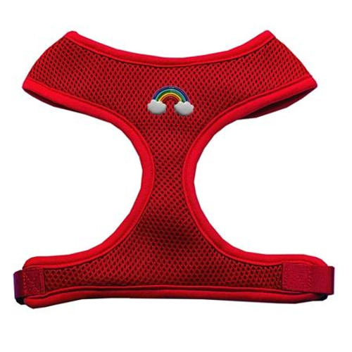 Rainbow Chipper Red Harness Small
