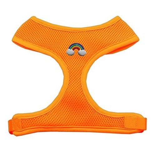 Rainbow Chipper Orange Harness Small