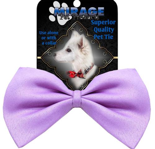 Plain Lavender Bow Tie