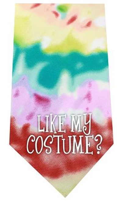 Like My Costume Screen Print Bandana Tie Dye