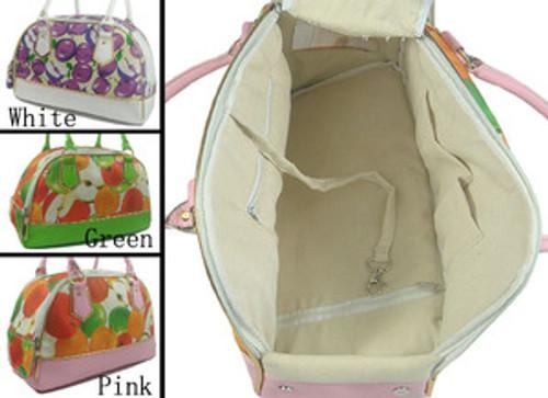 Dog Fruit Design Travel Carrier Bag (15 lbs)
