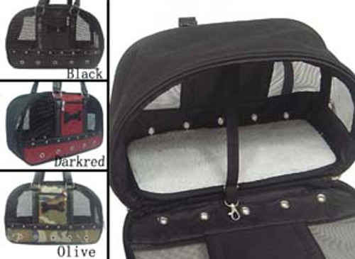 Dog Nylon Travel Carrier Bag (15 lbs)