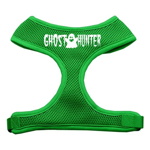 Ghost Hunter Design Soft Mesh Harnesses Emerald Green Extra Large