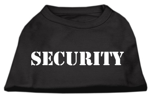 Security Screen Print Shirts Black 5x (24)