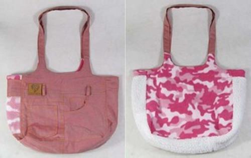 Denim Fashion Bag Pink
