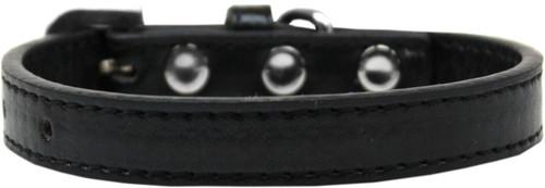 Wichita Plain Dog Collar Black Size 12