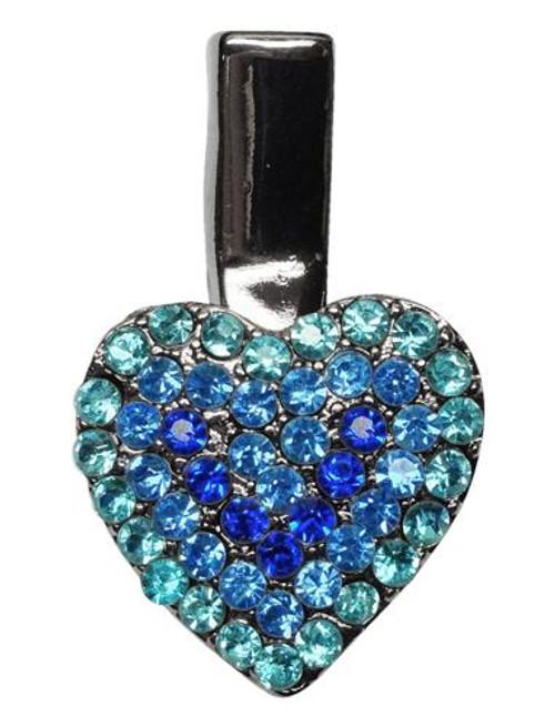Heart Clip Blue