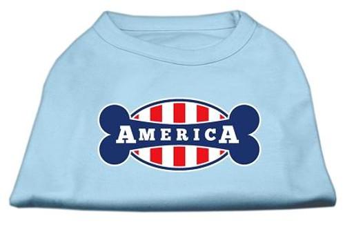 Bonely In America Screen Print Shirt Baby Blue Xxxl (20)