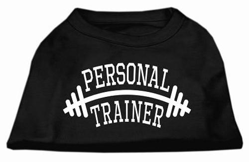 Personal Trainer Screen Print Shirt Black 6x (26)
