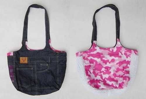 Denim Fashion Bag Blue