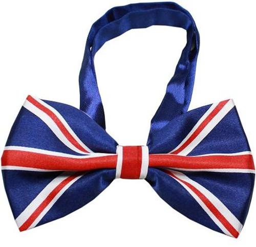 Big Dog Bow Tie British Flag