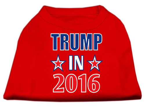Trump In 2016 Election Screenprint Shirts Red Xxl (18)