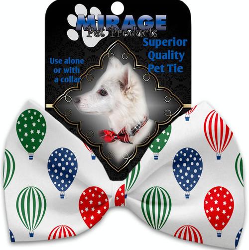 Hot Air Balloons Pet Bow Tie