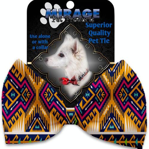 Tan Southwest Pet Bow Tie