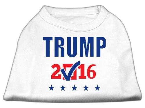 Trump Checkbox Election Screenprint Shirts White Xs (8)