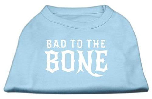 Bad To The Bone Dog Shirt Baby Blue Xxxl (20)