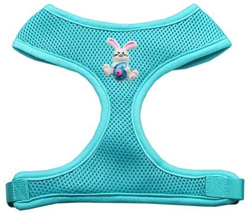 Easter Bunny Chipper Aqua Harness Large