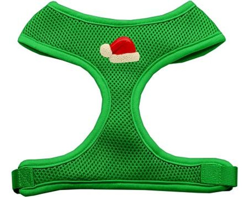 Santa Hat Chipper Emerald Harness Large