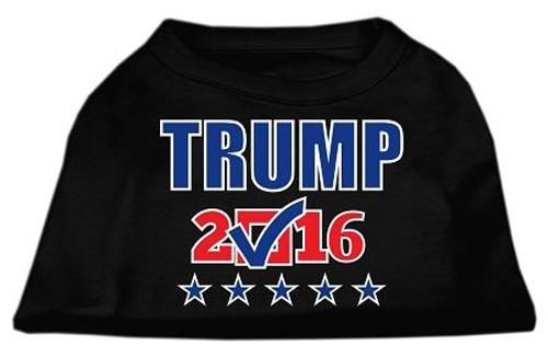 Trump Checkbox Election Screenprint Shirts Black Xs (8)