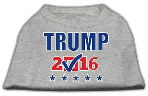 Trump Checkbox Election Screenprint Shirts Grey Xs (8)