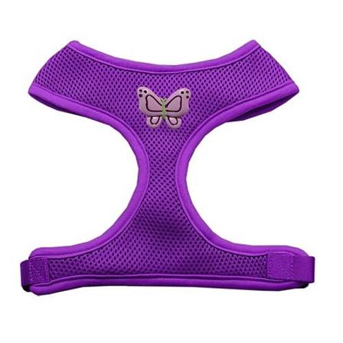 Purple Butterflies Chipper Purple Harness Large