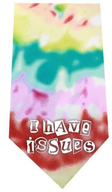 I Have Issues Screen Print Bandana Tie Dye